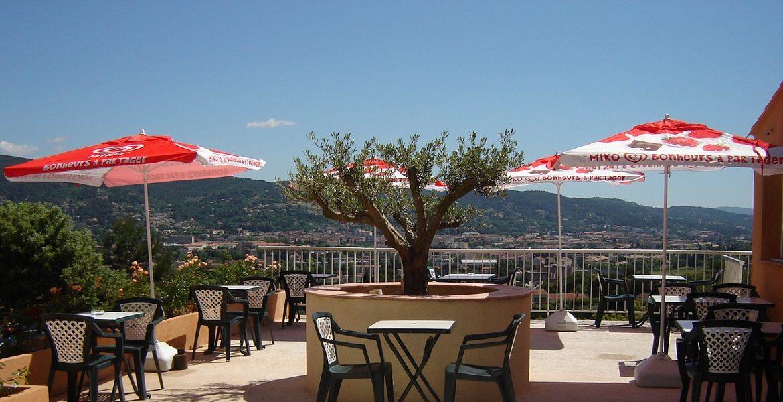 Hôtel Draguignan var col de l' ange terrasse panoramique