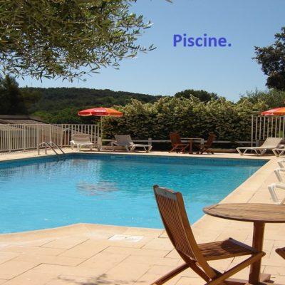 hôtel draguignan 83 var col de l ange calme charme piscine pas cher